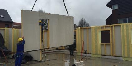 Exclusieve nieuwbouw houtskelet te Denderleeuw