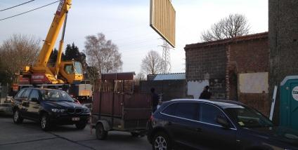 Aanbouw met houtskeletbouw te Oudenaarde