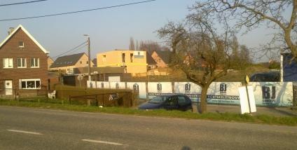 Nieuwbouw woning in houtskeletbouw te Ophasselt (Oost-vlaanderen)